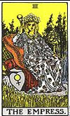 tarot card The Empress