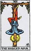 tarot card The Hanged Man