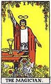 tarot card The Magician